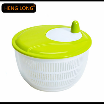 Kitchen Appliance Tools Salad Mixer Plastic Manual Fruit and Vegetable Salad spinner