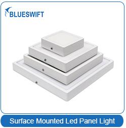 CRI 80 led acrylic panel downlight 24w