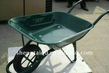 heavy duty construction wheelbarrow