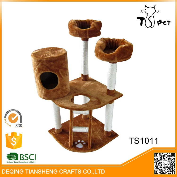 Wholesale High Quality designer large cat condo tree furniture