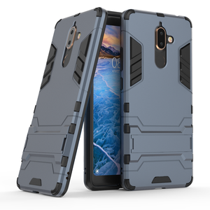 2018 cell phone accessories for nokia 7 plus,back cover with mobile phone holder for nokia 7 plus