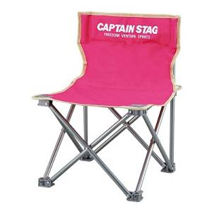 Captain Stagg (CAPTAIN STAG) palette compact chair mini pink M-3920