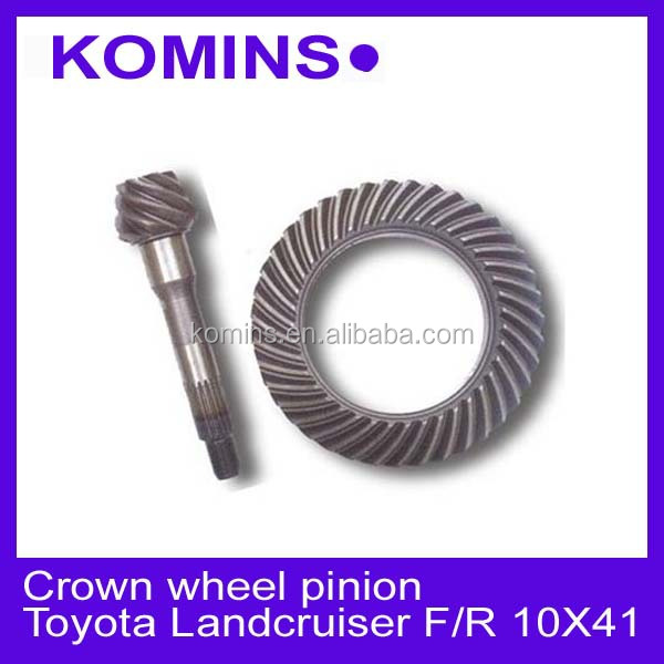Ring and pinion toyota Landcruiser Front and Rear Ratio # 10X41