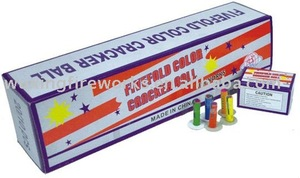 Fivefold color Cracker ball fireworks/Christmas Fireworks