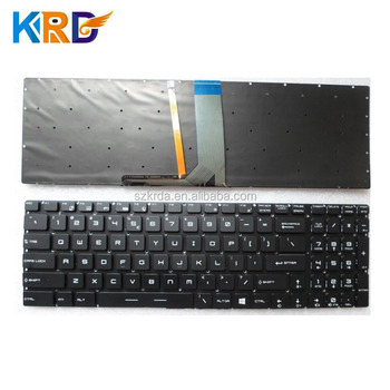 Genuine New For Msi Laptop Gs70 Gs60 Keyboard Layout Us Sp It Uk Ja Uk Ru  Ar Gr Fr Br Po Keyboard - Buy For Msi Laptop Keyboard,For Msi Gs70