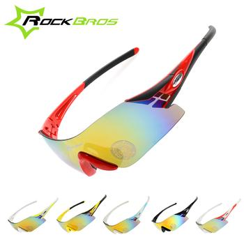 ec374542a51a8 ROCKBROS China Fabricantes Ciclismo Bicicleta óculos de Sol Moda Bicicleta  Eyewear Com Polarizada Colorido
