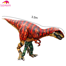 KANO-163 Make-up Party Realistische Animatronic T Rex <span class=keywords><strong>Kostuum</strong></span> Voor Verkoop