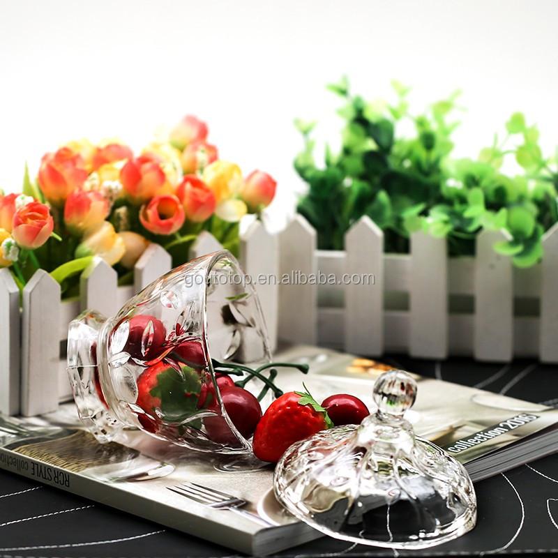 Chinesische Glaswaren Großhändler Von Klar Rautenförmigen ...