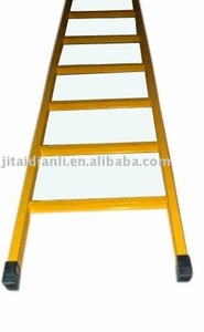 insulated extension electric glass fibre ladder