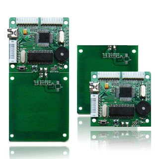 13.56mhz reader module with external antennas in different dimension from original manufacturer