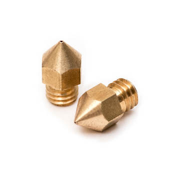 High precision customized cnc machining  brass nozzle 3d printer