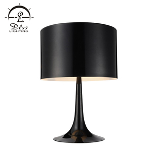 Energy Saving Simple Style Aluminum Desk Lighting Bedside Reading E27 Table Lamp