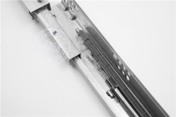 Full extension damper concealed drawer rails for america cabinet