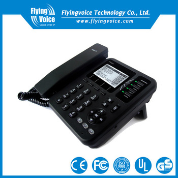 Flyingvoice own brand products IP542N VOIP Wireless DECT Phone with vpn and graphic lcd