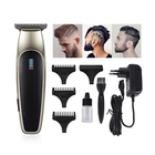 high power dc motor chargeable super profesional barber hair clipper for men