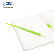 2017 Most Popular Stationery Silicone Leaf BallPoint Pen,Grass Shaped Plastic Pens