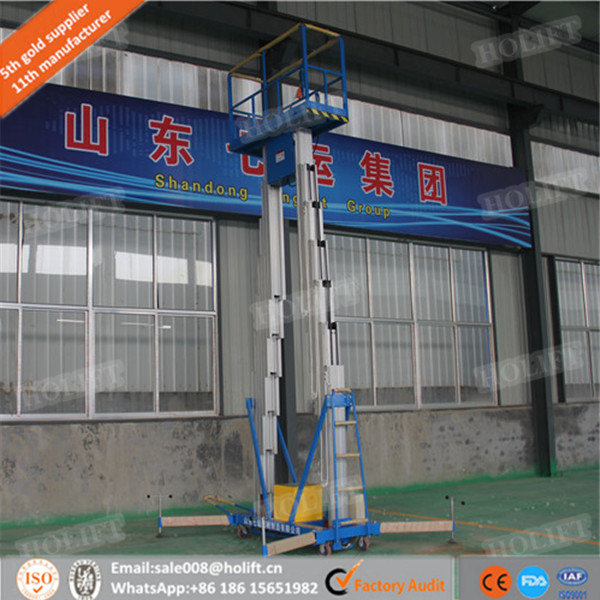 HOLIFT brand double mast aluminum alloy ladders