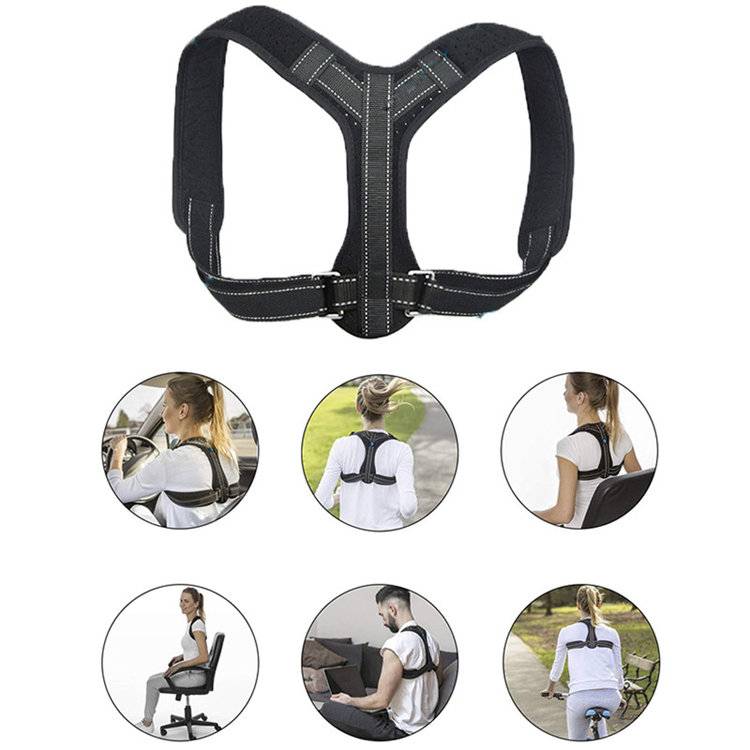 back posture corrector for adjustable posture correctorAdjustable Men Women Back Shoulder Supporting for brace posture