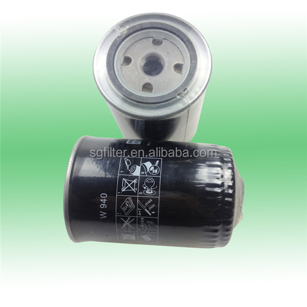 Lube Spin-On Oil filter w950 W940 LF4154 B7031for Mann