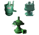 Small size low weight windmill submersible water pump for mining
