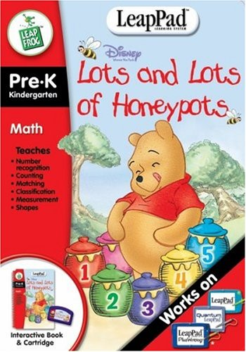 Pre-K & Kindergarten LeapPad Book: Pooh's Lots and Lots of Honeypots