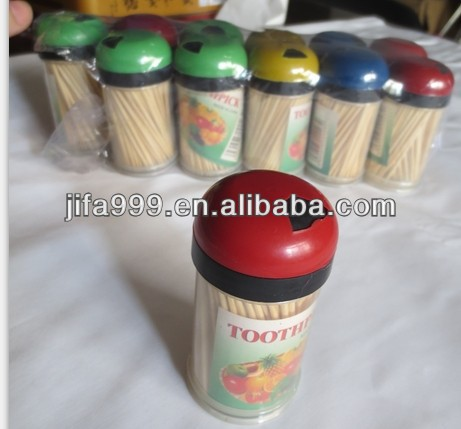all kinds of bottle bulk packing bamboo cheap toothpick in China