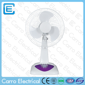 Guangdong factory 12v 12inch plastic dc table fan dc motor for 12v dc table fan price