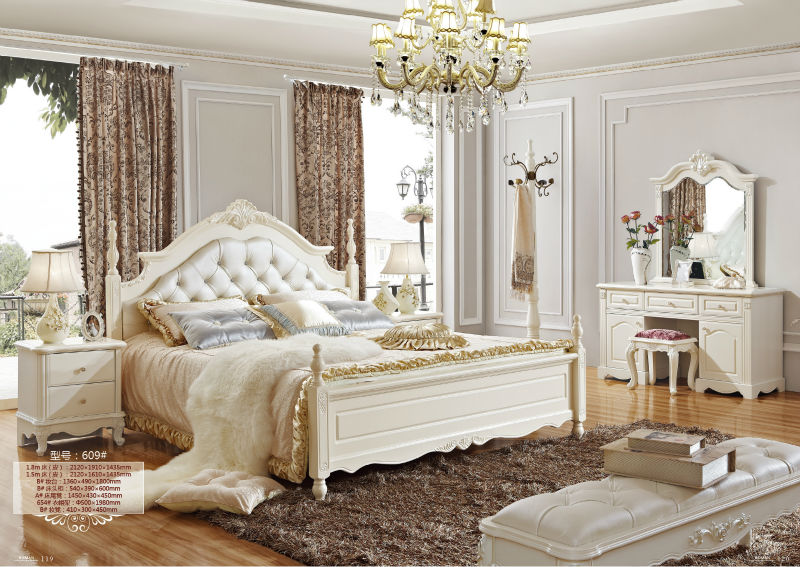 5 luxury french neo classic white bedroom furniture royal - White vintage bedroom furniture sets ...