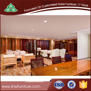 Rotproof solid ash wood wall panel for hotel