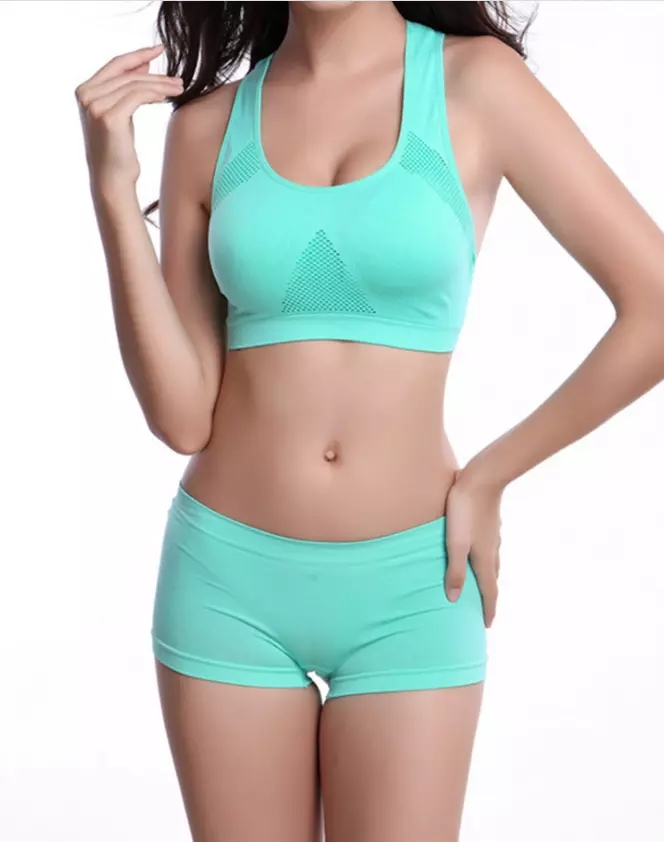 a037238c3a Low Moq New Fashion Seamless Confortable Yoga Sports Bra Underwear ...