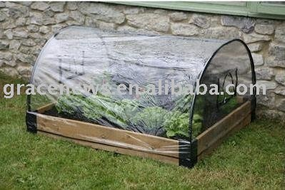 Raised bed with cover