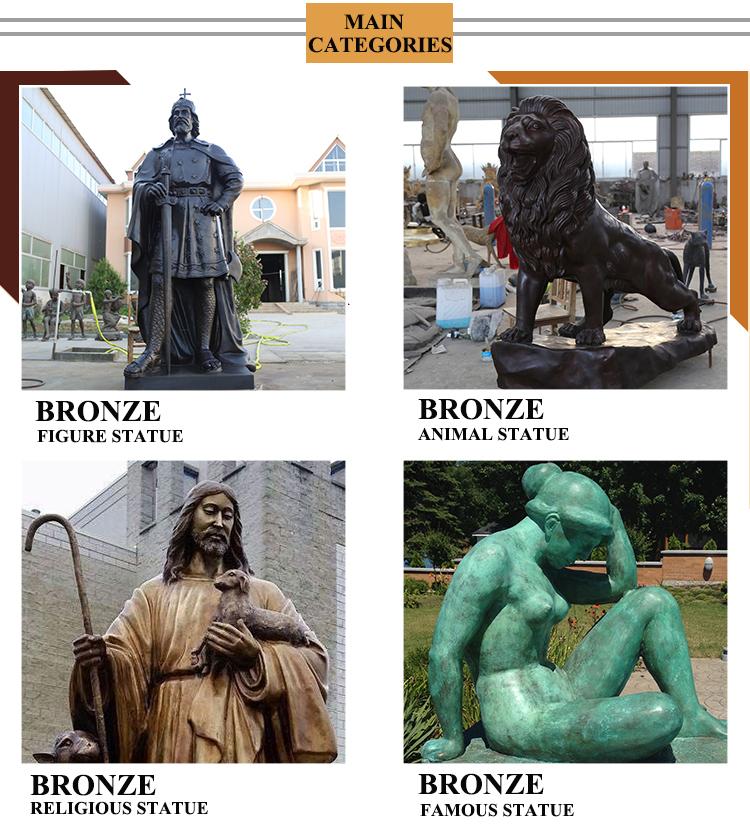 Decorazione esterna vita dimensione del bronzo cammello riporti le cose statua scultura