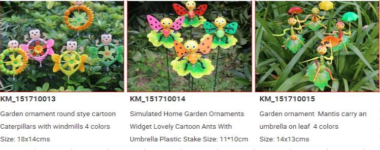OSGOODWAY 8 PLASTIC WINDMILL KINGFISHER WIND SPINNER YARD STAKES GARDEN DECOR ART SUPPLY WITH FREE SHIPPING