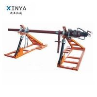 Large Capacity Hydraulic Conductor Reel Stands/Cable Stand Reel Stand