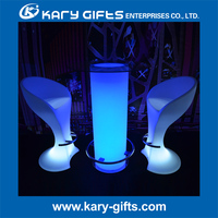 COOCHEER illuminated furniture with led light outdoor