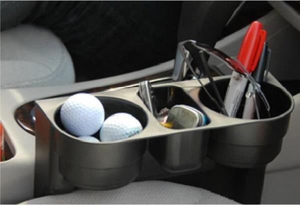Car Seat Cup Holder Light Organizer
