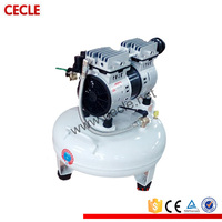silent oiless 6 bar air compressor