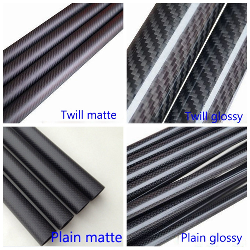 High Strength Roll-warpped Carbon Fiber Tube Pipe of Chinese Factory