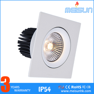 Top One Best Selling 2016 New Products Light Cri 90ra Cct Adjustable 2700K 3000k Dimmable Cob Led Downlight 7w Led Down Light