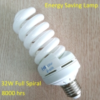 High quality 8000H t3 full spiral energy saving lamp