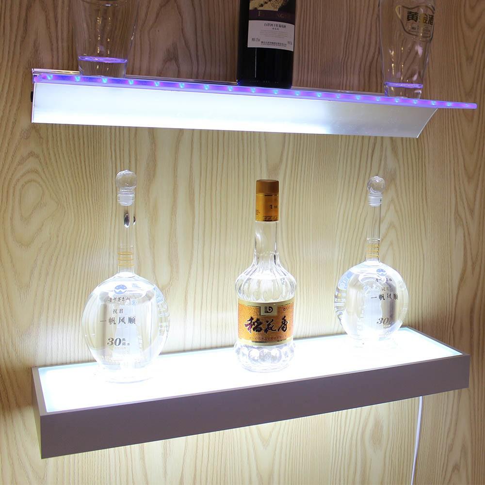 Frosting Glass Smd3528 Led Glass Shelf Light Alumnium Led Glass ...