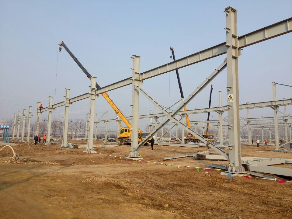 Good quality steel structure workshop/prefab warehouse