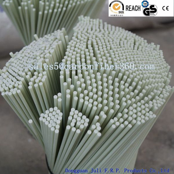 Pultrusion round durable solid fiber glass rod FRP stick GRP fiberglass rods