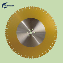 v Cut round cutting blade diamond segments for granite and agate