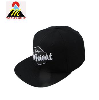 f545354dc64 K Products Custom Embroidery Company Logo Flat Bill Hip Hop Gorra Snapback  Hats Caps