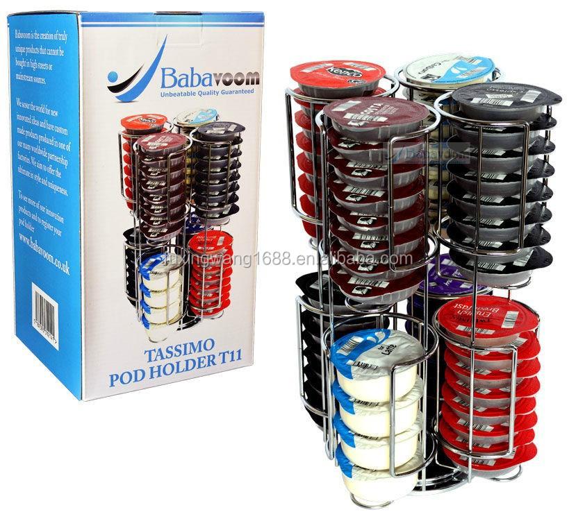 Tassimo 64 caf pod t disc porte capsule distributeur en acier inoxydable b - Porte capsule tassimo ...