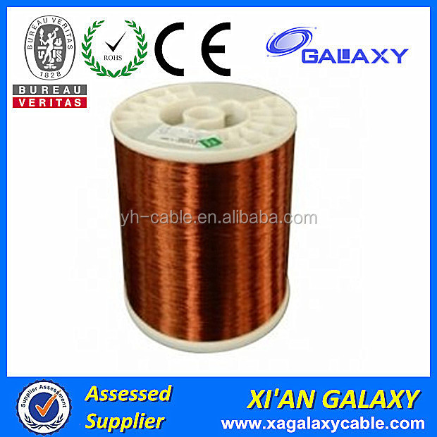 CE certificate high purity QA class 155 enameled aluminum feeder wire