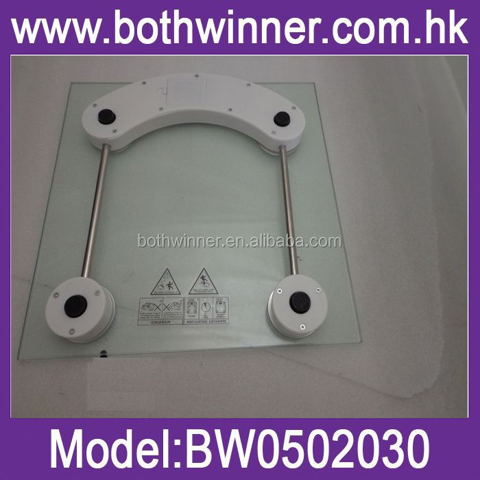 mechanical scale type electronic body fat scale , H0T52 oem glass electronic personal scale