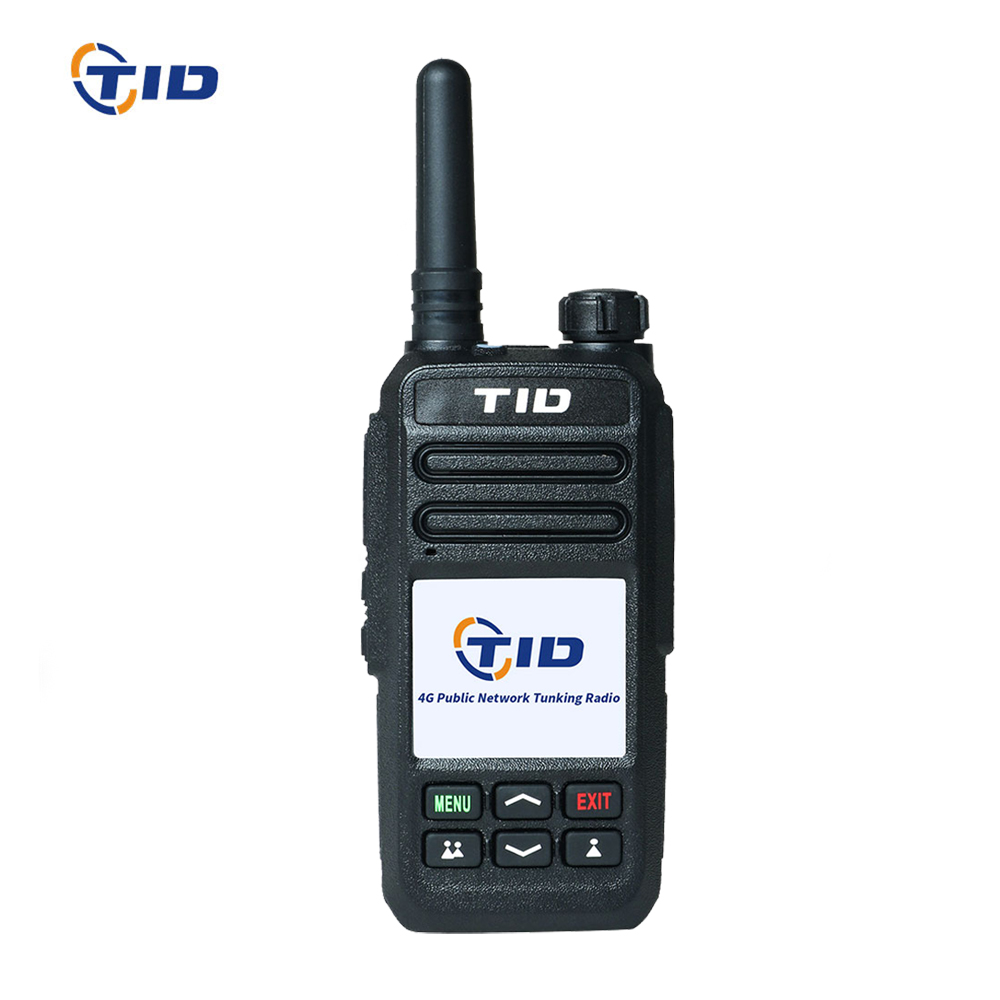 TID Zello 4G LTE 3G WCDMA POC IP bidirectionnel Radio TD-G5 WIFI GPS SOS talkie-walkie Bluetooth