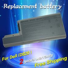 Replacement Laptop Battery For Dell Latitude D531 D531N D820 D830 Precision M65 Precision M4300 Mobile Workstation YD626 YD624
